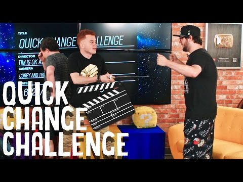 Quick Change | THE MYSTERY POOP! - w/ Sky, Red, James and Tim