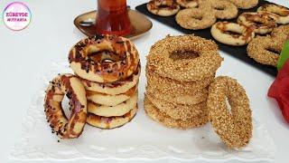 Ağızda Dağılan Pastane Usulu KANDİL SİMİDİ tarifi / Kandil Simidi nasıl yapılır