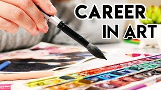 TURNING ART INTO A CAREER- How I make $250K/ Year