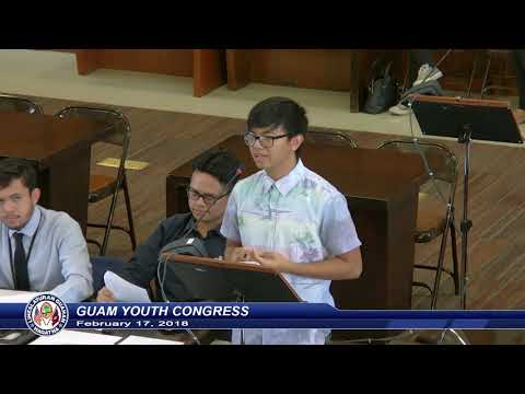 Guam Youth Congress - February 17, 2018