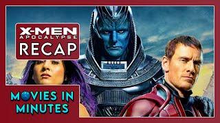 X-Men: Apocalypse in 4 minutes (Movie Recap)