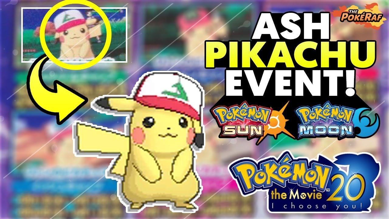 209028718b69d  Ash Hat Pikachu  Event for Pokémon Sun and Moon! - Pokémon The Movie 20 -  I Choose You!