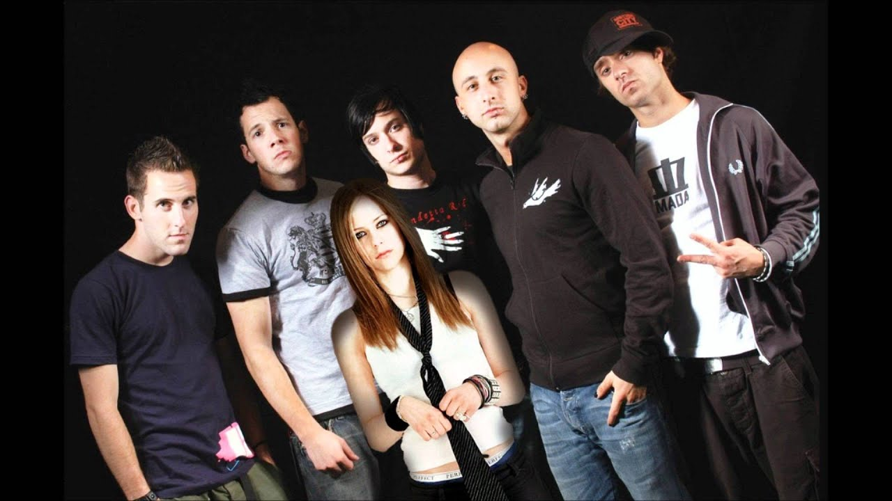 Avril Lavigne feat Simple Plan - Welcome To My Complicated ... Avril Lavigne Complicated