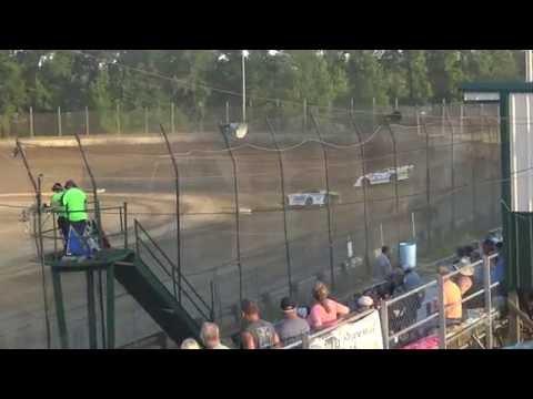 Moler Raceway Park   6.17.16   Late Models   Heat 2