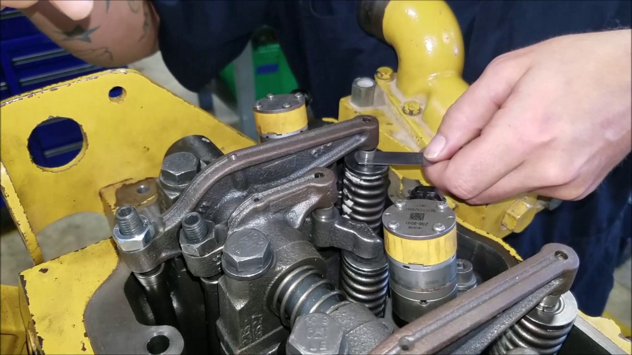 VALVE ADJUSTMENT - YouTube
