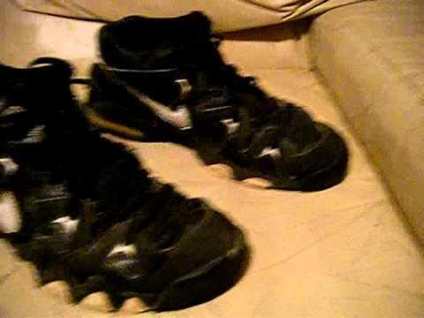 7ea67373d75e Nike Air 2 Strong Mid 1995 Original Vintage black white size 10.5 ...