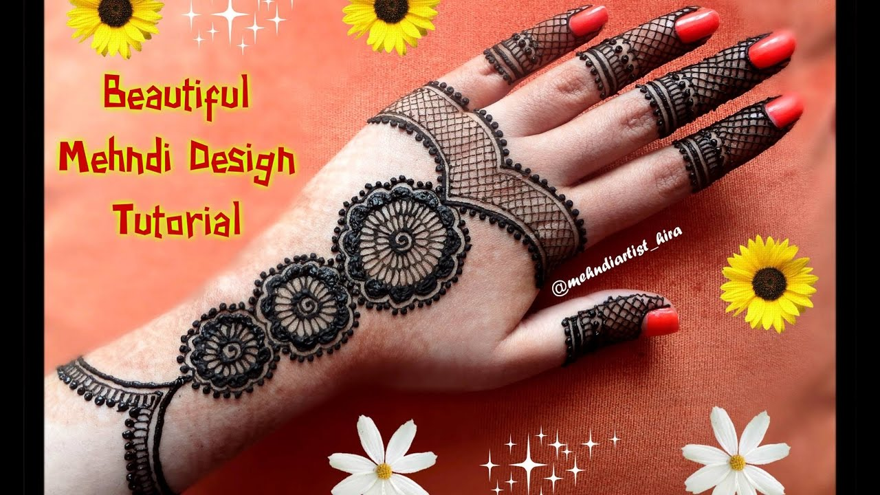 Diy Henna Design How To Apply Easy Simple Arabic Mehndi Designs For