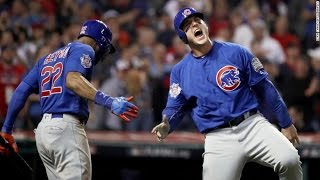 World Series Game 7 Top of the 10th Inning. Cubs Score 2!!! Live