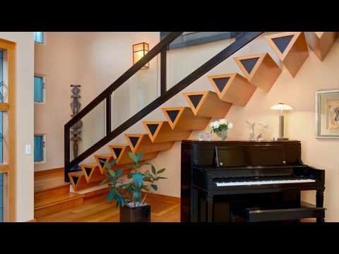 🔝 Top 10+ Modern Staircase Railing Design Ideas 2018   DIY Interior Decorating For Small Spaces DIY