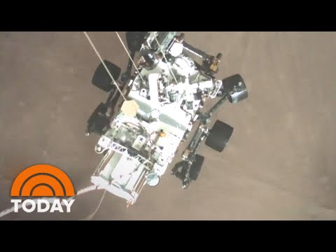 NASA Perseverance Sends Dramatic New Sights (And Sounds) Of Mars | TODAY