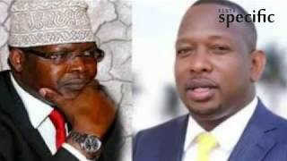 Sonko's response after the rejection of Miguna Miguna as nominee for Deputy Governor