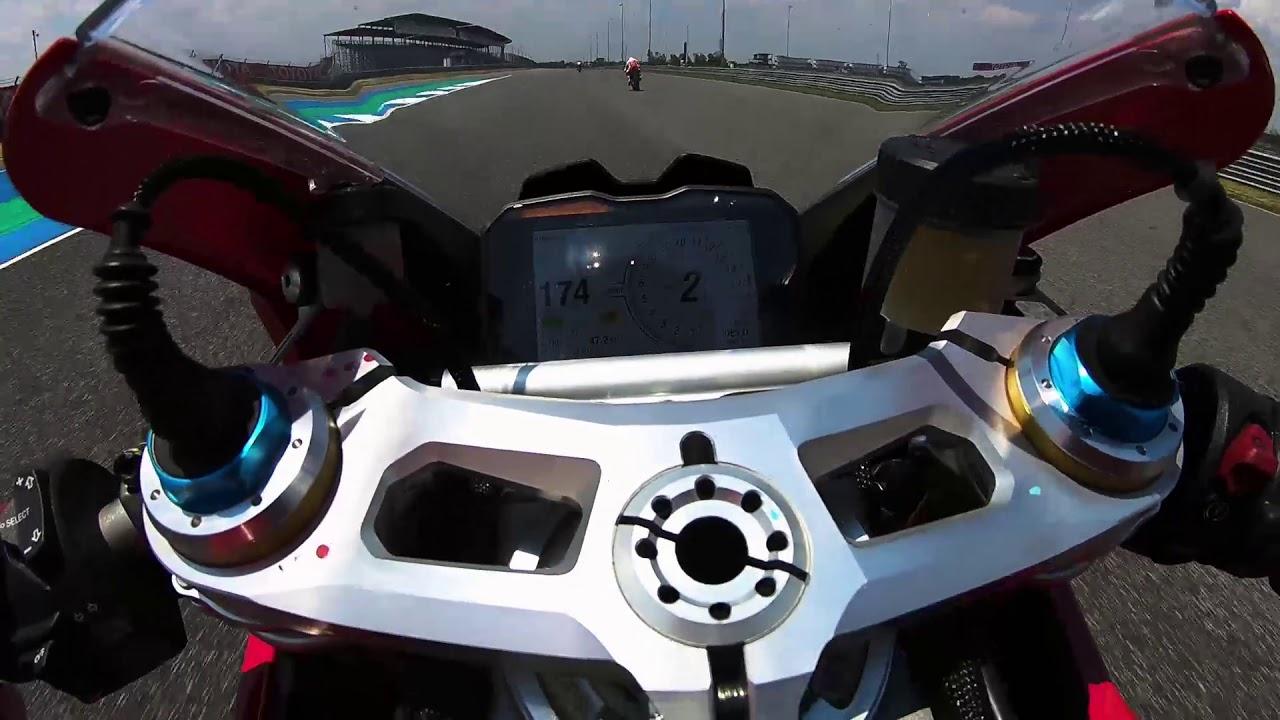 Ducati V4S Buriram Test