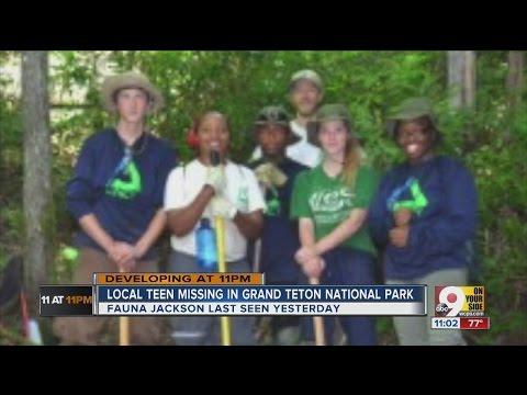Missing Cincinnati teen's boot found in Grand Teton National Park