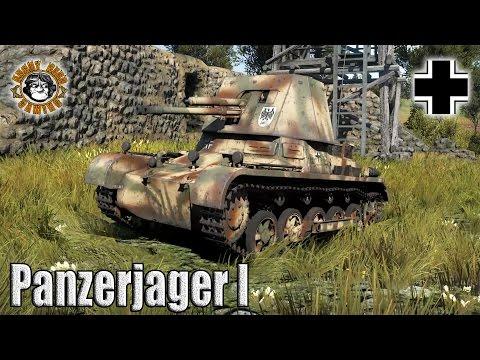 War Thunder: The Panzerjager I, German Tier-1, Tank Destroyer / SPG