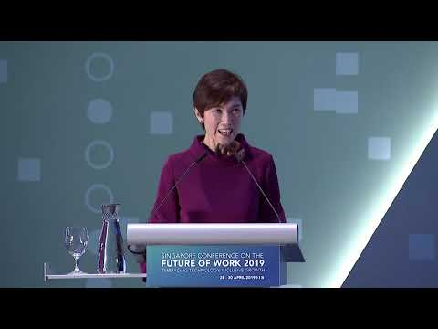 Singapore Conference on the Future of Work 2019: Opening remarks by Singapore Minister for Manpower