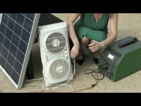UNplug compact power generator - portable solar energy supply