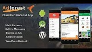 How to setup Adforest Android application - Mobile Classifieds Ads App