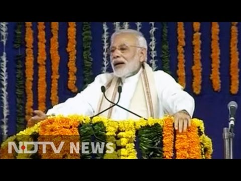 PM Narendra Modi Talks Of 'Surgical Strikes' In Fight Against Black Money
