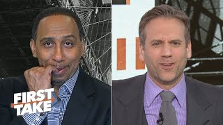 Stephen A. jumps off the Lakers