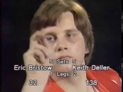 Keith Deller History Making 138 Finish 1983 World Championship Final Vs Eric Bristow HD!!!