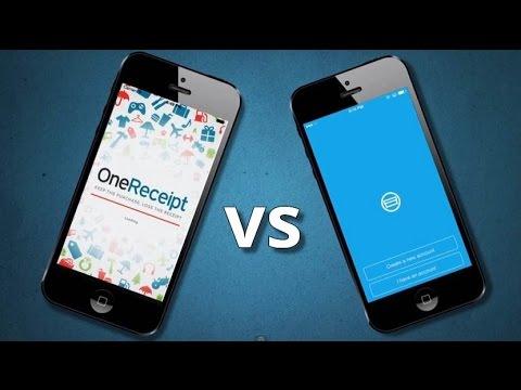 TechCheck: It's The Battle Of Receipt Apps... OneReceipt V. Shoeboxed