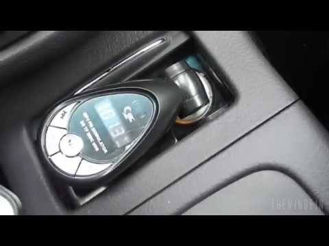 Unboxing Car MP3 Player FM Transmitter w Remote Control USB SD TF Card Slot