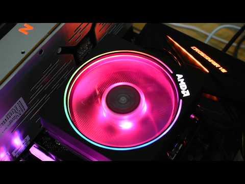 UNIKO's hardware AMD Wraith Prism RGB!