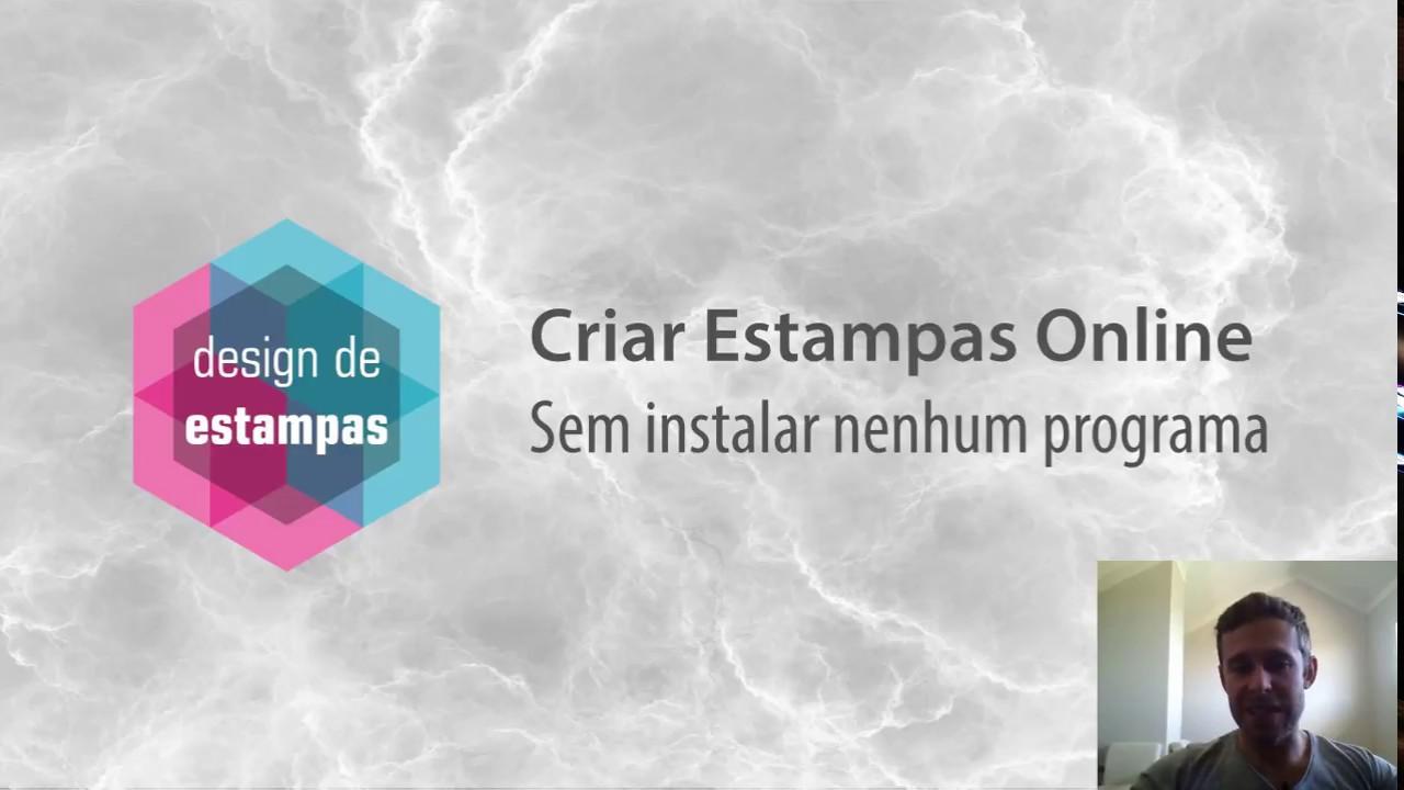Criar Estampas Online - sua arte sem precisar instalar softwares ... cc5ad11a68d8c