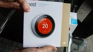 How to install Nest Thermostat 3rd Generation - UK