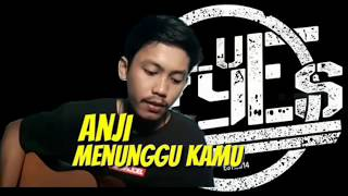 MENUNGGU KAMU - Anji (Cover) by MaF - BLUE EYES POPO PUNK