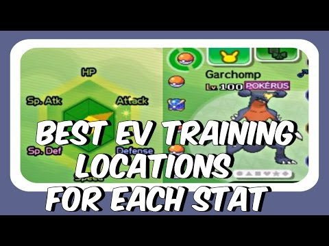 BEST EV TRAINING LOCATIONS - Pokemon Sun and Moon