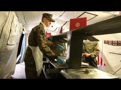 Food Service Company Marines seek perfection during MEFEX
