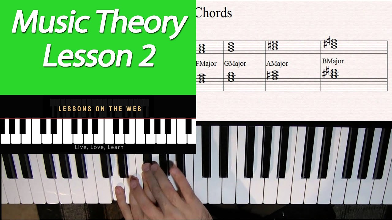 Learn Music Theory Lesson 2