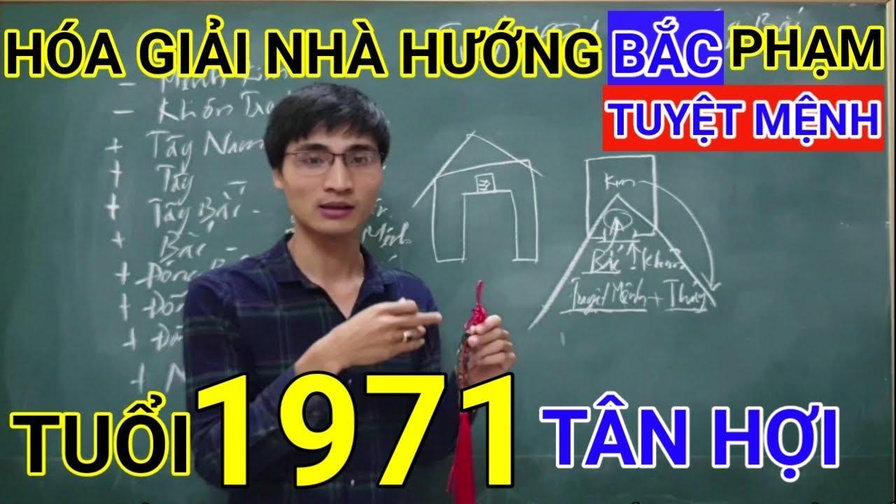 Tuổi Tân Hợi 1971 Nhà Hướng Bắc | Hóa Giải Hướng Nhà Phạm Tuyệt Mệnh Cho Tuoi Tan Hoi 1971