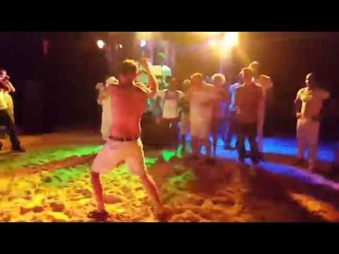 Dance-off of the Three White Boys @ the Grand Palladium Lady Hamilton Resort & Spa in Jamaica