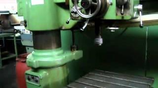 WEBO Radial Drilling Machine
