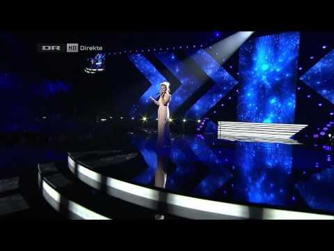 X Factor 2012 DANMARK [HD] | Finalen | Ida - I can be