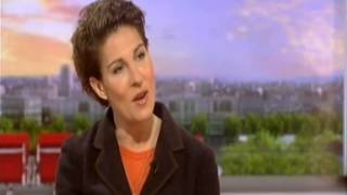 Tamsin Greig on BBC Breakfast - Women on the Verge of a Nervous Breakdown