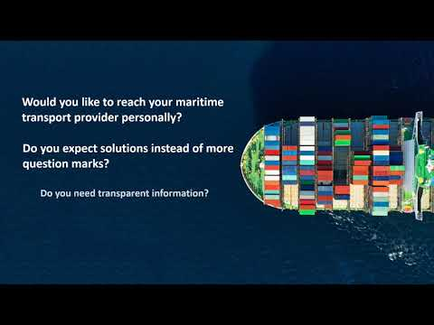 Global Container Shipping Agency Image Trailer