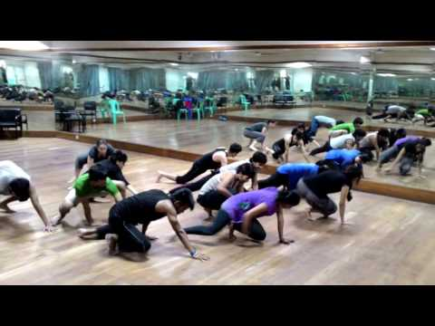 Eastern Body Practices in Modern Dance Workshop by chia-liang Lin - TAIWAN