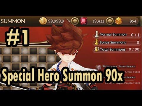 Seven Knights - Special Hero Summon & Erin's Quiz #1 (NOOOOOOOOOOOOOOOOOOO)
