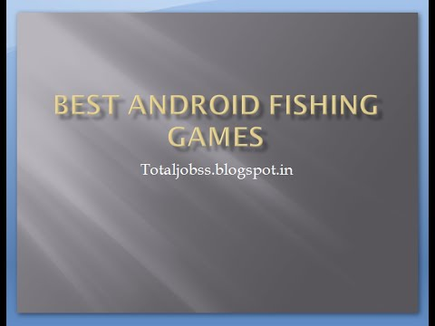 Best Android Fishing Games Youtube