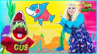 Baby Shark | Kids Song and Nursery Rhymes Sing and Dance | Animal Songs with Gus
