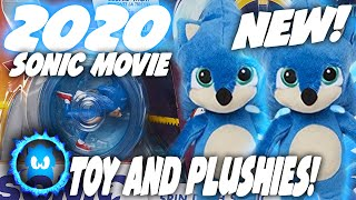NEW Upcoming Sonic Movie Toy And Baby Sonic PLUSHIE! - Sonic Movie News