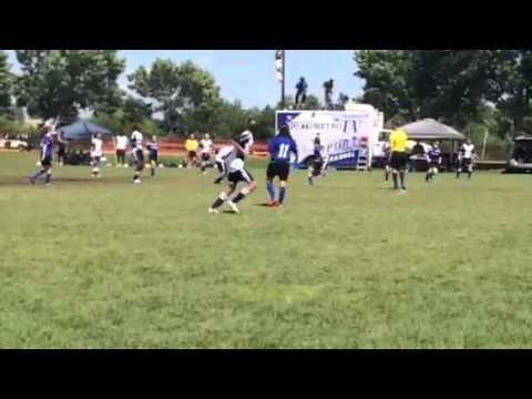 U12 Girls USA Cup Final Goal