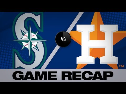 Verlander Leads Astros With 10-strikeout Gem | Mariners-Astros Game Highlights 8/4/19