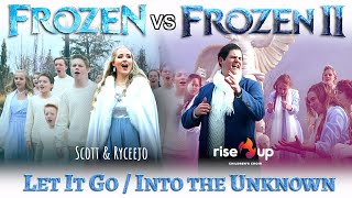 Let It Go Into the Unknown - EPIC Disney Mashup (Frozen / Frozen 2) - ft. Rise Up Children's Choir