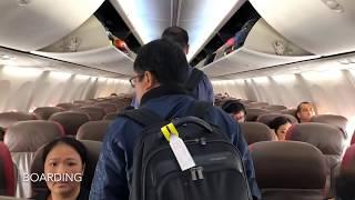 Batik Air Flight Experience ID 6512 Jakarta to Denpasar B737-900ER (PK-LBJ)