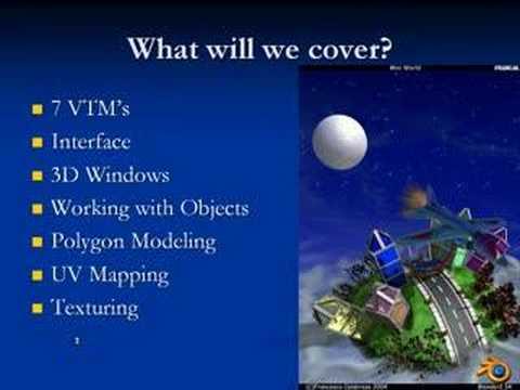 Introduction to Blender VTM 1