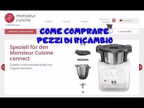 Monsieur Cuisine Connect Guida all'acquisto Pezzi di Ricambio